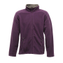 Adamsville Full Zip Fleece 3XL Majestic Purple/Smokey