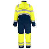 PROJOB 6202 HI VIZ COVERALL PADDED YELLOW C44