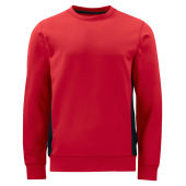 PROJOB 2127 SWEATSHIRT RED L
