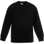 Kids classic set-in sweat (62-041-0) black 9/11