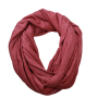 Heather Summer Loop-Scarf wijnrood-melange