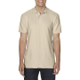 Gildan Polo Double Pique Softstyle for him sand 3XL