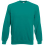 Classic raglan sweat (62-216-0) emerald m