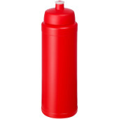 Baseline® Plus 750 ml drinkfles met sportdeksel - Rood