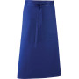'colours' bar apron royal blue one size