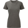 Ladies' hd t grey marl s