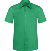 Ace - heren overhemd korte mouwen kelly green s