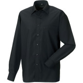 Men's ls polycotton poplin shirt