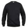 Basic roundneck zwart 3xl