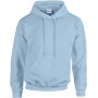 Heavy blend™ classic fit adult hooded sweatshirt light blue xl