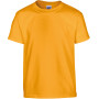 Heavy cotton™ classic fit youth t-shirt gold 5/6 (s)