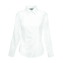 Lady-Fit longsleeve Oxford Shirt White XS