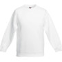 Kids classic set-in sweat (62-041-0) white 3/4