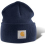 Acrylic watch hat navy one size