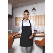 Short Bib Apron Basic with Buckle and Pocket 75 x 60 cm