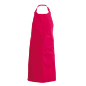 Apron - kinderschort red one size