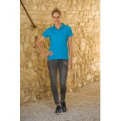 L&S Polo Basic SS for her