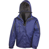 Parka 3-in-1 binnenzijde in softshell
