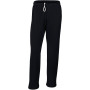 Heavy blend™ adult open bottom sweatpants black xxl