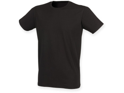 Men's crew-neck stretch t-shirt