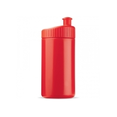 Sportbidon design 500ml rood