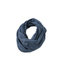Heather Summer Loop-Scarf blauw-melange