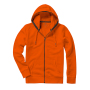 Arora Hooded Full Zip Sweater XS Orange