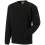 Heavy duty crew neck sweatshirt black xl