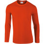 Softstyle® euro fit adult long sleeve t-shirt orange xl