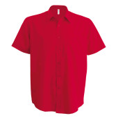 Ace - heren overhemd korte mouwen classic red 3xl