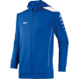Jas met kap Cup XXL royal/wit