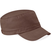 Army cap chocolate one size