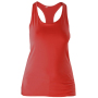 Dames racerback red s