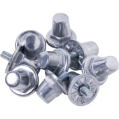 Pack of 100 aluminium hexagonal studs