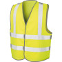 Core motorway vest fluorescent yellow l/xl