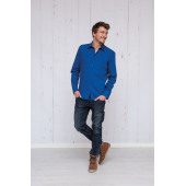 L&S Shirt Poplin Mix LS for him