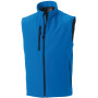 Men's softshell gilet azur blue xl