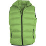 Dons bodywarmer lime / black xs