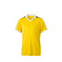 V-Neck Team Shirt geel/wit/zwart