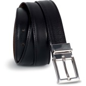 Reversible leather belt - 35 mm