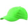 6 Panel Cap Low-Profile lime