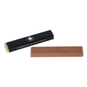 Chocolade stick met karamelvulling ca. 18 gr. tot in full colour bedrukt