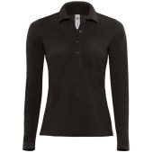 Safran ladies' long-sleeved polo shirt