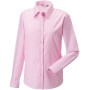 Ladies' long sleeve easy care oxford shirt classic pink m
