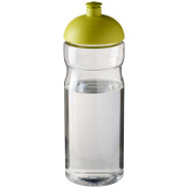 H2O Base® 650 ml bidon met koepeldeksel - Transparant/Lime