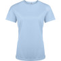 Functioneel damessportshirt sky blue xs