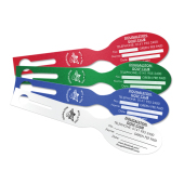 Disposable Bag Tags, water resistant, Tear Proof