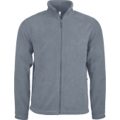 Zip through micro fleece jacket