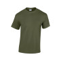 Heavy cotton™ classic fit adult t-shirt military green s