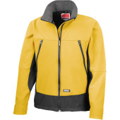 Activity softshell jacket soft yellow / black xxl